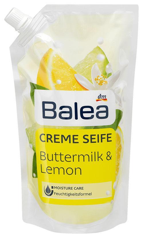 Жидкое мыло Balea с ароматом лимона и пахты запаска 500мл