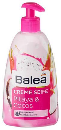 Жидкое мыло Balea с ароматом кокоса и питаи дозатор 500мл, фото 2