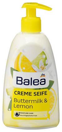 Жидкое мыло Balea с ароматом лимона и пахты дозатор 500мл, фото 2