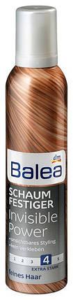 Пена для волос Balea Invisible power 250мл, фото 2