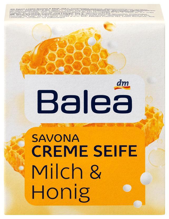 Мыло Balea с ароматом молока и меда 150г