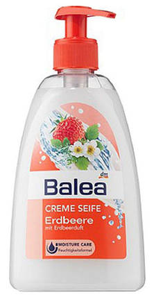Жидкое мыло Balea с ароматом клубники с дозатором 500мл, фото 2