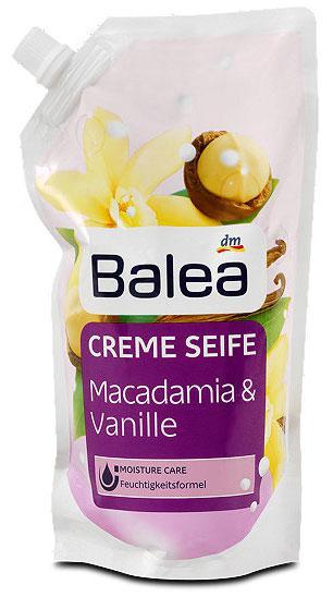 Жидкое мыло Balea  с ароматом макадамии и ванили запаска 500мл