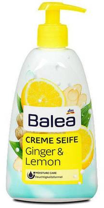 Жидкое мыло Balea с ароматом имбиря и лимона дозатор 500мл, фото 2