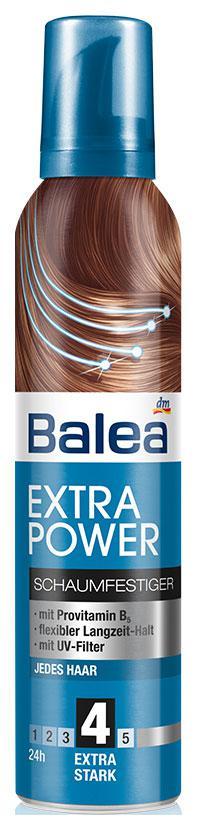 Пена для укладки волос Balea экстра сильная фиксация 250мл