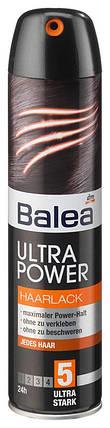 Лак для волос Balea Ultra Power экстремальная  фиксация 300мл, фото 2