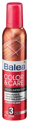 Пена для укладки волос Balea защита цвета окрашенных волос 250мл, фото 2