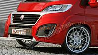 Передний бампер для Fiat Ducato III 2014 (послерест.)