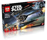 """Конструктор Lepin аналог  LEGO Star Wars 75185 """"Исследователь Палпатина """" 597 дет."""