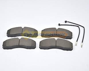 Дисковые тормозные колодки на Renault Master II 2005->2010 3.0dCi - Meyle (Германия)-MY0252916020W