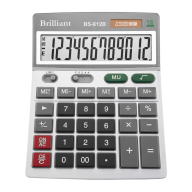 Настольный калькулятор brilliant bs-812В на 12 разрядов