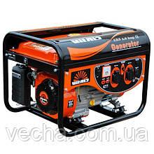 Генератор бензин/газ Vitals ERS 2.8bng/2.8-3.0 кВт (ручной стартер, соврем. дизайн)