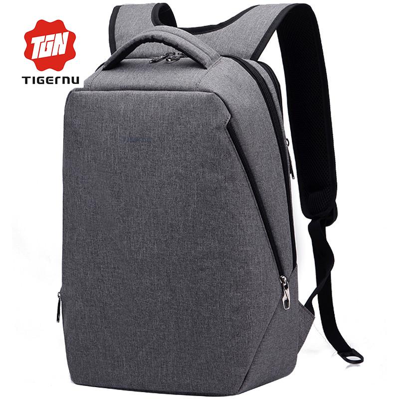 """Фирменный рюкзак для ноутбука Тigernu T-B3164 14"""" серый"""