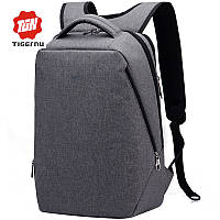 "Фирменный рюкзак для ноутбука Тigernu T-B3164 14"" серый, фото 1"