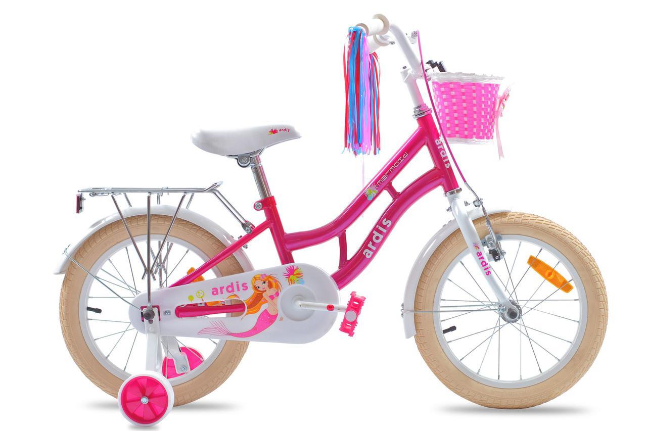 """Детский велосипед ARDIS MARMAID BMX 16""""  Розовый"""