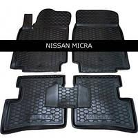 Коврики в салон Nissan Micra (К12) (2002-2010)