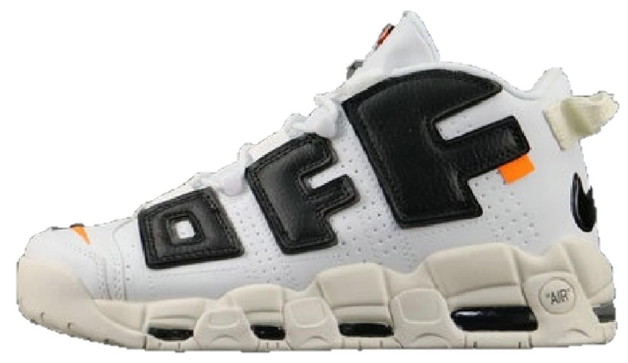 sports shoes 68e72 70254 Мужские кроссовки OFF-WHITE x Nike Air More Uptempo - Магазин обуви Brand  Market (