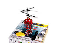 Летающая игрушка-трансформер для детей Transformers, робот трансформер