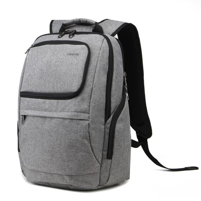 """Фирменный рюкзак для ноутбука Тigernu T-B3165 14"""" серый"""