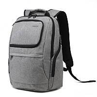 "Фирменный рюкзак для ноутбука Тigernu T-B3165 14"" серый, фото 1"