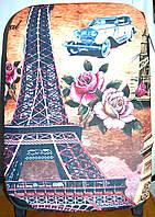 Чехлы для чемоданов из стрейчевые в 3 размерах (Париж)