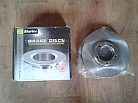 Передний тормозной диск STARLINE PB2954 на Citroen Berlingo B9, Citroen (C3, C4, C5), Peugeot (207, 307, 308)