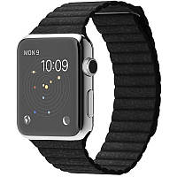 Ремінець для Apple iWatch 38mm Leather Loop Band ser. Black