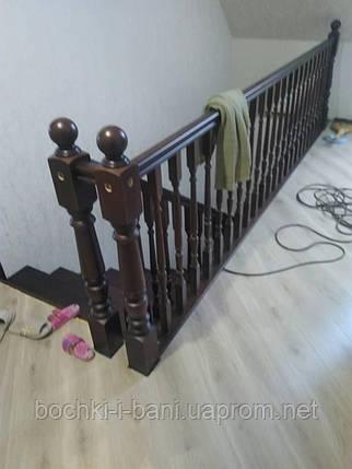 Лестница из натурального дерева, фото 2