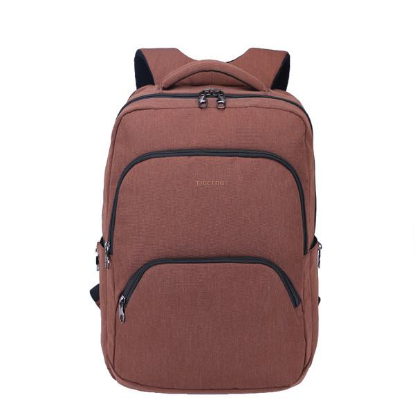 """Фирменный рюкзак для ноутбука Тigernu T-B3189 17"""" кофейный"""