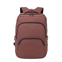 """Фирменный рюкзак для ноутбука Тigernu T-B3189 17"""" кофейный, фото 1"""