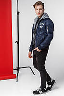 Модная мужская короткая куртка