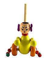 Деревянная игрушка Каталка, Woody