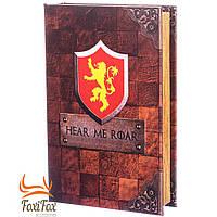 Книга сейф на ключе Hear me roar