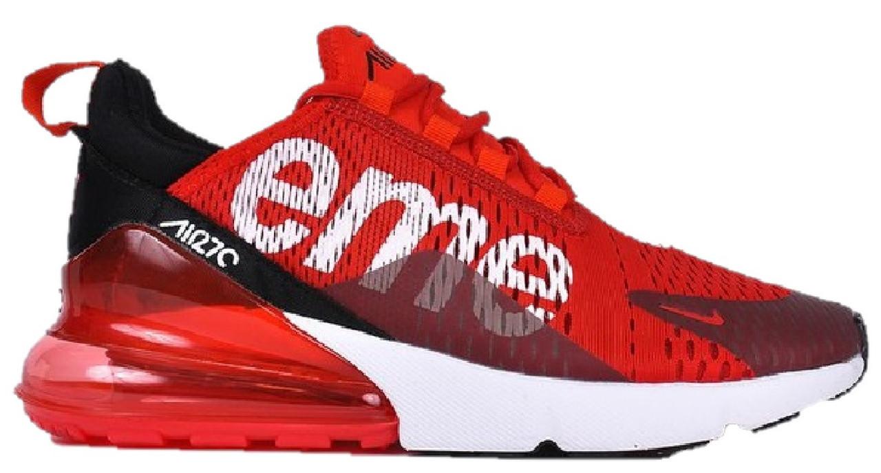 31af3d14 Мужские кроссовки Nike Air Max 270 Supreme Red - Магазин обуви Brand Market  (бренд онлайн