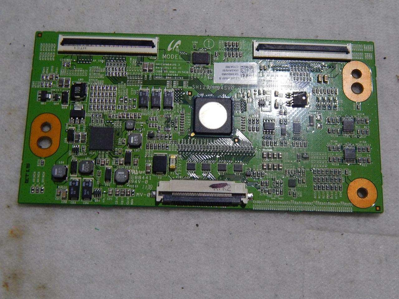T-Con BN41-01743 для телевизора Samsung UE46D6200