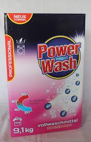 Стиральный порошок Power Wash Profesional 9.1 кг концентрат из Германии