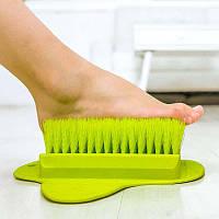 Щётка для ног на присоске Foot Brush  Новинка!
