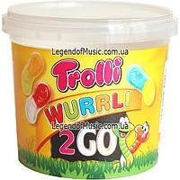 Жевательный мармелад Trolli 2 Go Wurrli Worms 150g, фото 1