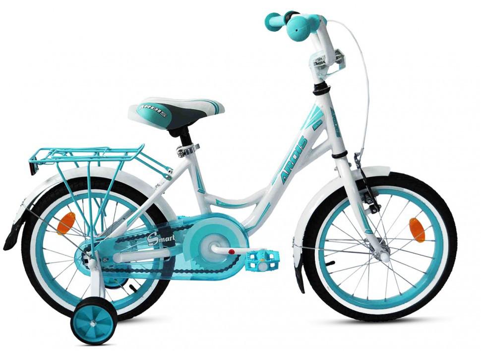 """Детский велосипед ARDIS SMART 16""""   Белый/Голубой"""