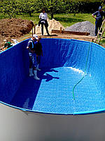Плёнка под мозаику для сборного каркасного овального бассейна Ibiza, Mountfield, Hobby pool, фото 1