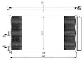 Радиатор кондиционера, фото 2