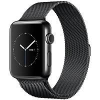 Ремінець для Apple iWatch 42mm Milanese Loop Band ser. Black