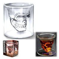 Стакан з 3D черепом Doomed - оригінальний алко-подарунок!, 1001582, 0