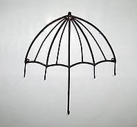 Вешалка-ключница кованая Зонтик