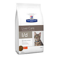 Hill's Prescription Diet Feline L/D / Липидоз печени, печеночная енцефалопатия / 1.5kg