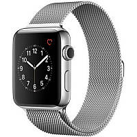 Ремінець для Apple iWatch 42mm Milanese Loop Band ser. Silver(993718)