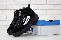 Мужские кроссовки Fila Disruptor 2 Black, фото 1
