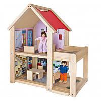 Деревянный домик для кукол Eichhorn