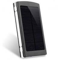 Портативная зарядка Power Bank Solar 25000mah на солнечной батарее
