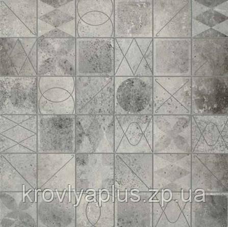 Кафель для пола керамогранит Бристоль серый мозаика/ Bristo grey mozaik